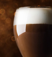 The perfect Irish coffee